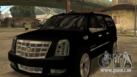 Cadillac Escalade ESV Black für GTA San Andreas
