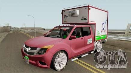 Mazda BT 50 Con Furgon pour GTA San Andreas