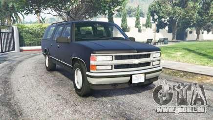 Chevrolet Suburban (GMT400) für GTA 5