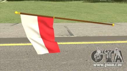 Poland Flag pour GTA San Andreas