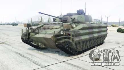 FV510 Warrior amulet pour GTA 5