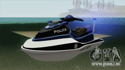 Seashark Police GTA V für GTA San Andreas