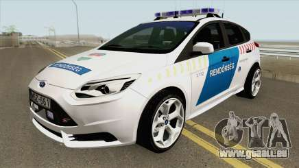 Ford Focus RS Magyar Rendorseg pour GTA San Andreas