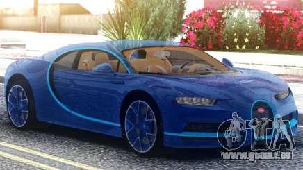 Bugatti Chiron 2020 für GTA San Andreas