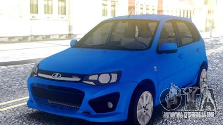 LADA Kalina Sport Blue pour GTA San Andreas