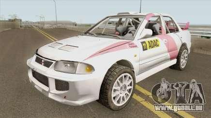 Mitsubishi Lancer Evolution III GSR WRC 95 Rall für GTA San Andreas