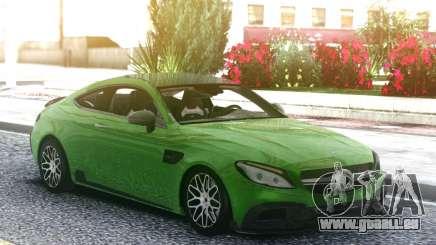 Mercedes-Benz W205 Coupe Brabus 650 pour GTA San Andreas