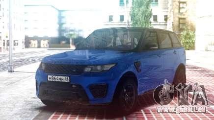 Range Rover Sport SVR Blue für GTA San Andreas