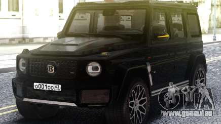 Mercedes-Benz G700 Widestar Brabus Edition pour GTA San Andreas