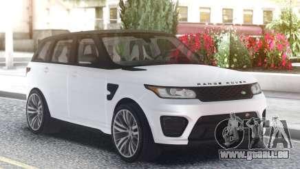 Range Rover SVR White für GTA San Andreas