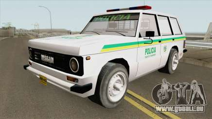 Nissan Patrol (Patrullas Colombianas) pour GTA San Andreas