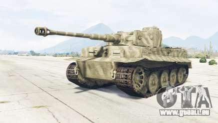 PzKpfw VI Ausf. H1 Tiger für GTA 5