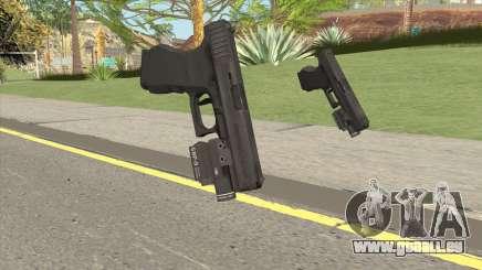 Glock 19 HQ (L4D2) für GTA San Andreas