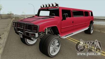 Mammoth Patriot Stretch V2 GTA V für GTA San Andreas