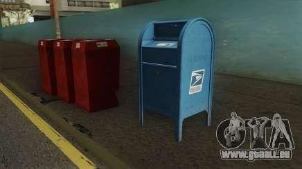 4K Postbox für GTA San Andreas