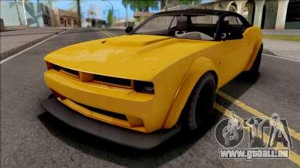 GTA V Bravado Gauntlet Hellfire Stock IVF pour GTA San Andreas