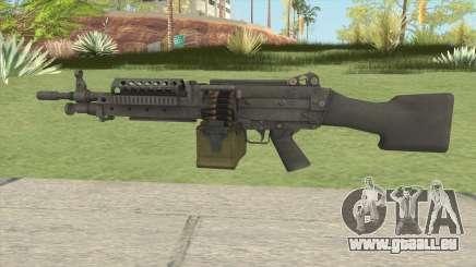 Battlefield 3 M249 pour GTA San Andreas