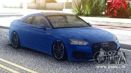 Audi RS5 Blue Coupe für GTA San Andreas