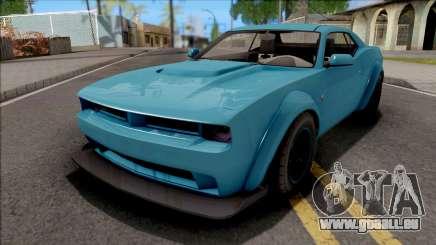 GTA V Bravado Gauntlet Hellfire Stock pour GTA San Andreas