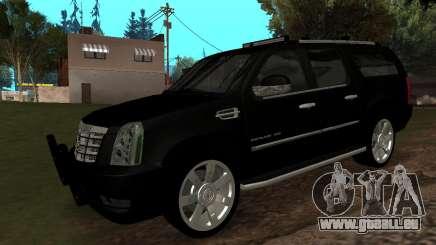 Cadillac Escalade ESV 2008 für GTA San Andreas