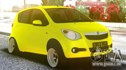 OPEL Agila Yellow pour GTA San Andreas