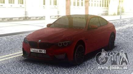 BMW M4 GTS Cherry für GTA San Andreas