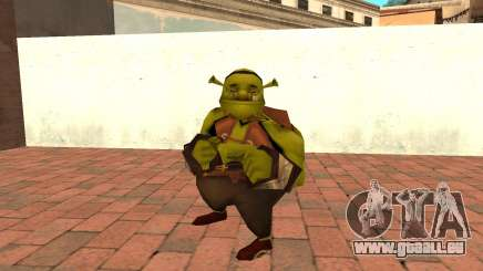 Fat Shrek Funny pour GTA San Andreas