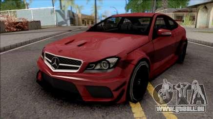 Mercedes-Benz C63 AMG 2014 pour GTA San Andreas