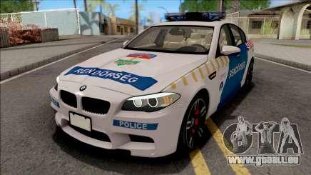 BMW M5 F10 Magyar Rendorseg für GTA San Andreas