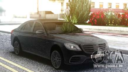 Mercedes-Benz S63 AMG W222 Black für GTA San Andreas
