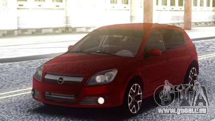 Renault Clio Red pour GTA San Andreas