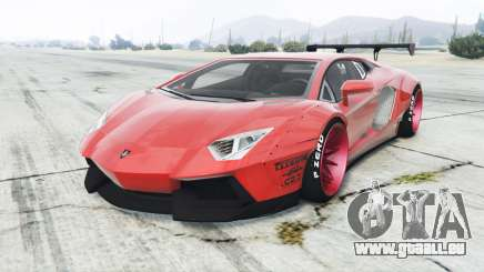 Lamborghini Aventador LP700-4 Liberty Walk für GTA 5