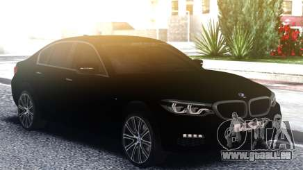 BMW 540i G30 Black pour GTA San Andreas