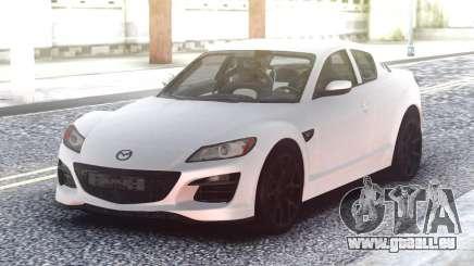 Mazda RX-8 White pour GTA San Andreas