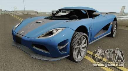 Koenigsegg Agera R 2011 HQ pour GTA San Andreas