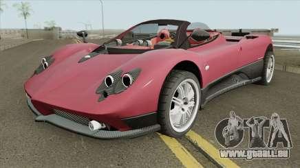 Pagani Zonda F IVF pour GTA San Andreas