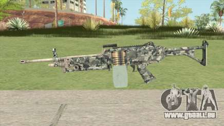 FN Minimi (Pixelated) pour GTA San Andreas
