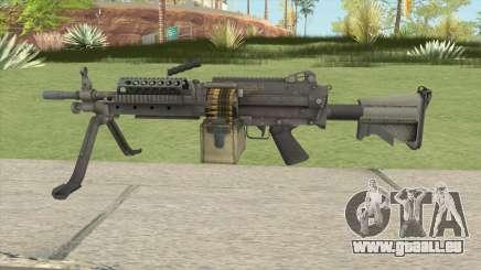 Battlefield 4 M249 pour GTA San Andreas