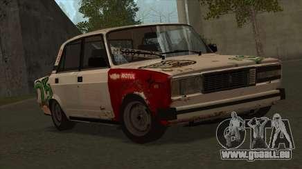 VAZ 2105 Bekämpfung der 25 für GTA San Andreas