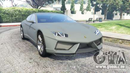 Lamborghini Estoque concept 2008 pour GTA 5
