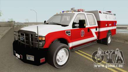 Ford F-250 San Andreas Fire Department 2011 pour GTA San Andreas
