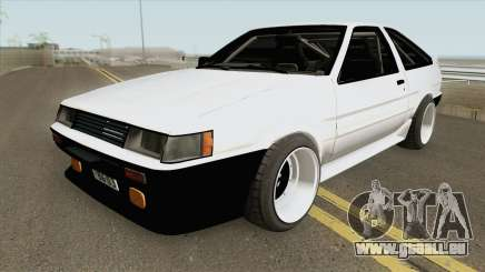 Toyota AE86 Levin 4A-GE pour GTA San Andreas