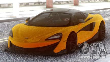 McLaren 600LT 2018 Yellow pour GTA San Andreas