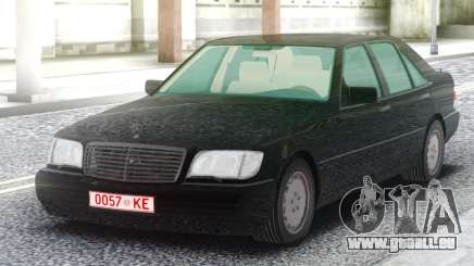 Mercedes-Benz W140 Sedan pour GTA San Andreas