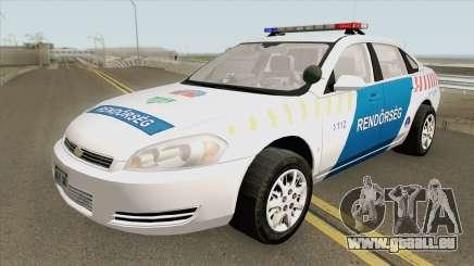 Chevrolet Impala 2013 Magyar Rendorseg pour GTA San Andreas