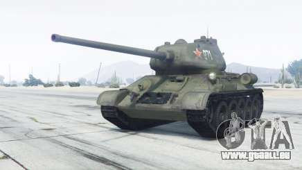 T-34-85 grüne Farbe für GTA 5