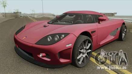 Koenigsegg CCX HQ 2006 für GTA San Andreas
