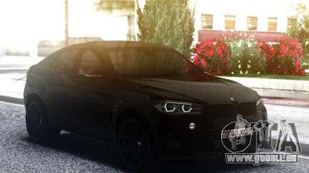 2016 BMW X6M F86 Exhaust SOUND pour GTA San Andreas