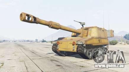 M109A6 Paladin pour GTA 5