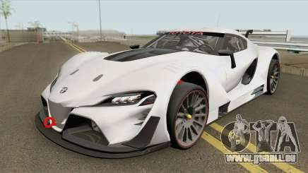 Toyota FT-1 Vision Gran Turismo GR3 (GT3) 2014 pour GTA San Andreas